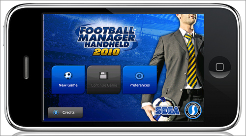 Football Manager for iPhone