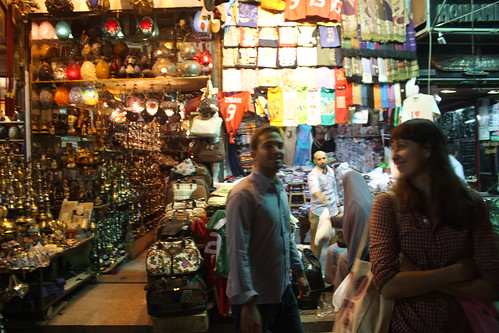 Khan el Khalili shoppers