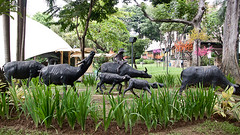 Carabao Sculptures, Greenbelt, Makati