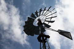 Windmill (Bllparkfrank) Tags: blue sky white windmill clouds canon eos colorado weld bluesky national 7d prairie grasslands pawnee pawneenationalgrasslands easterncolorado we