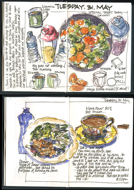 110531 Food Diary Wk 1 Tuesday