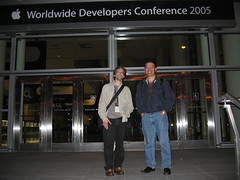 Jeff Biggus and I at WWDC 2005