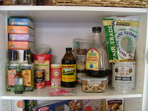 First Shelf of Pantry