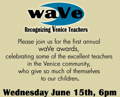 Venice Chamber of Commerce Teachers Awards
