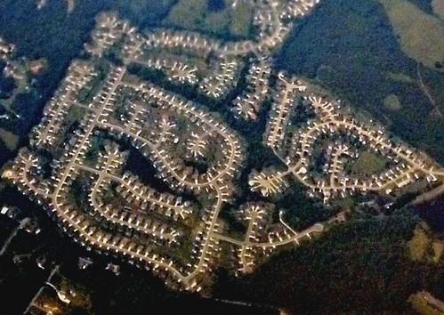 sprawl in North Carolina (c2011 FK Benfield)