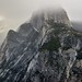 Half Dome Hidden in the Clouds (Yosemite National Park)