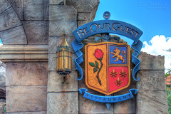 Be Our Guest Restaurant - Disney's Magic Kingdom (J.L. Ramsaur Photography) Tags: jlrphotography nikond7200 nikon d7200 photography photo lakebuenavistafl centralflorida orangecounty florida 2016 engineerswithcameras magickingdom disney'smagickingdom photographyforgod thesouth southernphotography screamofthephotographer ibeauty jlramsaurphotography photograph pic waltdisneyworld disney disneyworld beautythebeast beourguest waltdisney happiestplaceonearth wheredreamscometrue magical tennesseephotographer imagineering beourguestrestaurant waltdisneyworldresort disneyimagineering beourguestsign beourguestrestaurantsign beastsenchantedcastle rosegallery westwing hdr worldhdr hdraddicted bracketed photomatix hdrphotomatix hdrvillage hdrworlds hdrimaging hdrrighthererightnow sign signage it'sasign signssigns iseeasign signcity rose crest beastscrest disneymoviethemedrestraurant