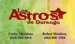 Astros Durango Front