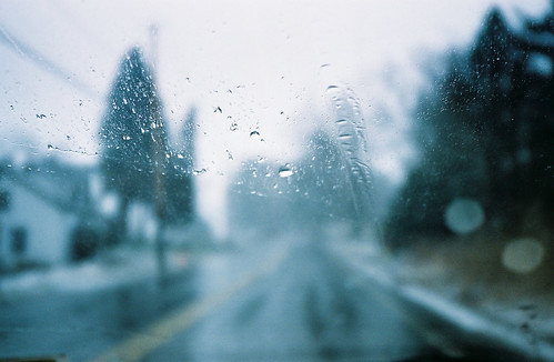 rainyalbanyfromthecar