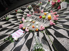 John Lennon's Birthday, Imagine (aprilbaby) Tags: nyc newyorkcity travel manhattan october9 johnlennonbirthday