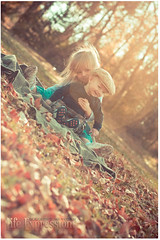 Autumn Enjoyment (nate@nderson) Tags: autumn boy fall girl leaves kids canon 50mm sister brother explore flare rapidcity sunflare explored nateanderson rebeccalilypreset lifeexpressions happylittleretro