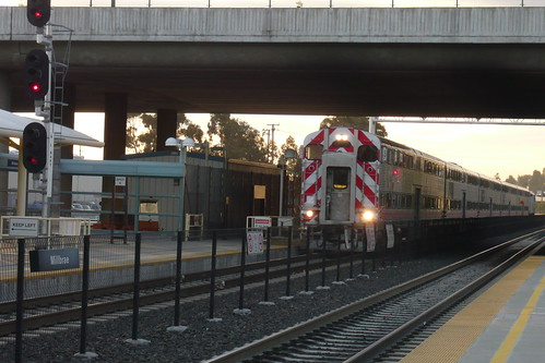 Millbrae Caltrain Northound Train