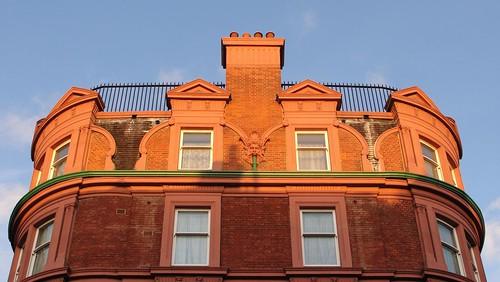Fassade aus Bloomsbury