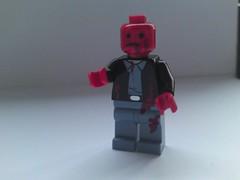 Crimson Head (burakki62) Tags: crimson lego head zombie evil minifig custom residentevil resident crimsonhead