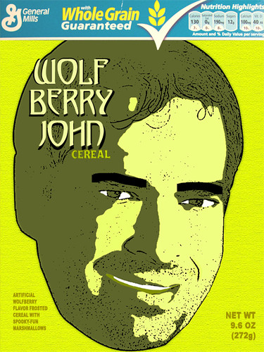 As it turns out, WolfBerry is not all that tasty...