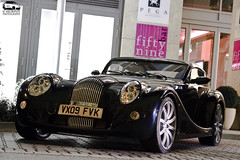 Morgan Aero SuperSports (Murphy Photography) Tags: lighting black sports car canon lens eos d fast super morgan 50 tamron dsseldorf aero rar supersports prototyp tripot