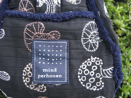 Mushroom bag from mina-perhonen