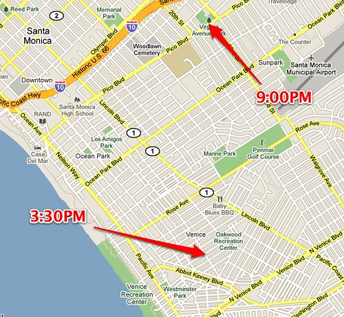 Los Angeles, CA - Google Maps