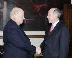 El Secretario General de la OEA José Miguel Insulza, recibe a Ricardo Lorenzetti, Presidente de la Corte Suprema de Justicia de la República Argentina