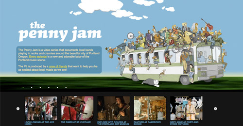The Penny Jam - Header