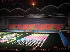 Textile Backdrops at Mass Games in Pyongyang (Ray Cunningham) Tags: tourism del north games korea tourist textile american backdrop mass norte pyongyang core  corea dprk arirang koryo       raycunningham 51 rungrado zaruka raymondkcunninghamjr raymondkcunninghamjr