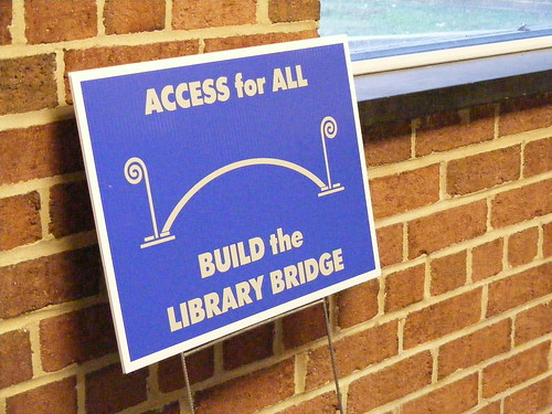 'Build The Library Bridge'