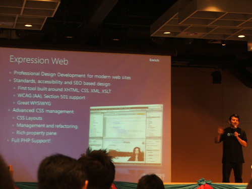Session แรก The power of PHP and Windows โดย คุณฟูเกียรติ จุลนวล จาก Microsoft