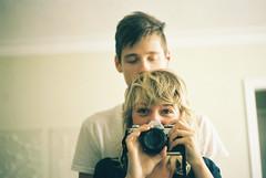 (Džesika Devic) Tags: couple film love canon ae1 boy girl portrait romantic nostalgic dating girlfriend boyfriend