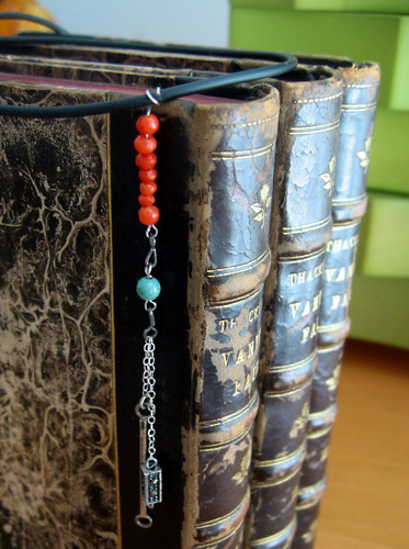 necklace - long chain dangle