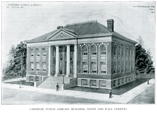 August Michaelis' winning design for Joplin's Carnegie Library