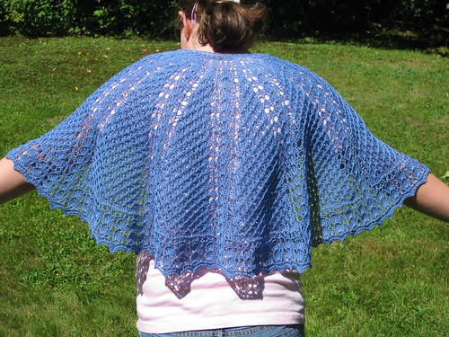 Starfall shawl