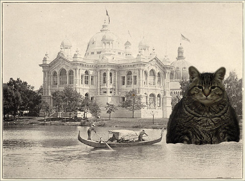 Parker and the Brazil Building, World's Columbian Exposition.