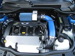 NM Engineering intake, turbo heat shield hot/c...