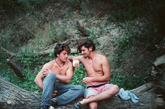 A shepherd and his cousin (d.mavro) Tags: shirtless man sexy guy nature greek body masculine muscle shepherd chest young