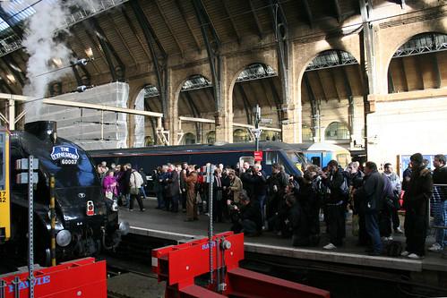 "Someone say ""train spotter""?"