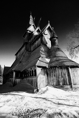 Hopperstad Stave Church, Moorhead, ND