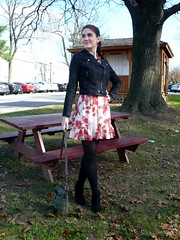 Nov 30 - as skirt with jacket