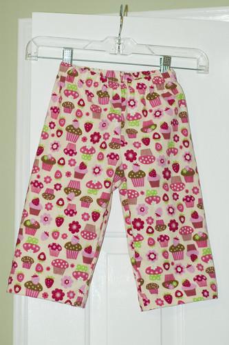 Pink cupcake pajamas 1