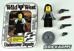 Undercover Deputy Minifig by Thrash (The Skull Bandit) Tags: wild west brick art apple movie for tv call arms lego duty ghost engine halo artsy will prototype microsoft amelia trans thrash custom build cod nerf trade bionicle weapons proto prototypes chapman protos mw2 brickarms mw1