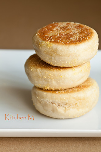 Homemade Buttermilk English Muffins