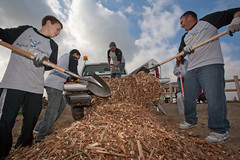 Project Inspire - Unloading the mulch
