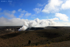 Kilauea (Richard E. Ducker) Tags: park island volcano hawaii big kilauea vulco hava