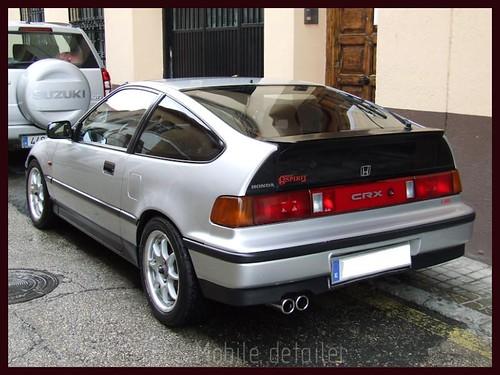 Honda CRX Gris Plata-69