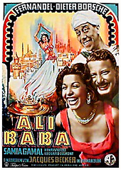 Samia Gamal In The French Movie 'Ali Baba et Les 40 Voleurs' 1954 (B) (Tulipe Noire) Tags: africa movie french star artist famous egypt middleeast 1954 dancer ali belly cairo 1950s egyptian actress samia thieves baba gamal voleurs
