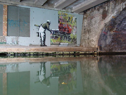 banksy graffiti wallpaper. Banksy wallpaper graffiti