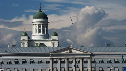 Helinki Cathedral and City Hall por Jani Helle.