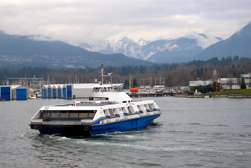 Opening Day of the New Seabus