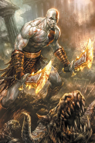 Click Here for more God of War and Video game iPhone wallpapers Thousands of
