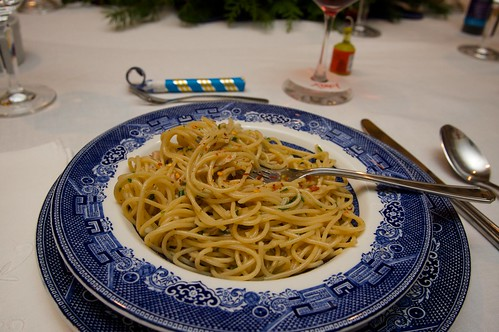 linguine & clams