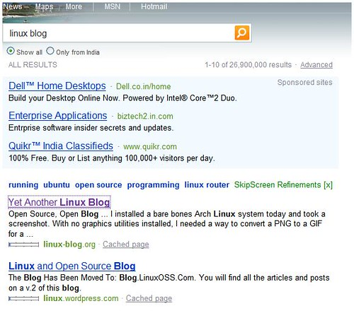 bing linux no official